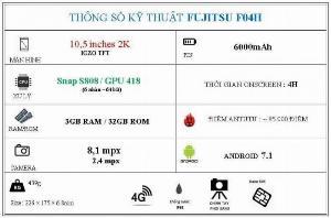 2021-09-26 15:27:57  6  Máy tính bảng Fujitsu F04H Giá tốt tại Nhật Bản 2,850,000