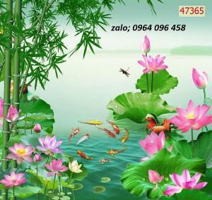 2021-09-27 06:47:32  6  Tranh gạch 3d ốp tường mẫu phong cảnh thiên nhiên - 656XP 1,200,000