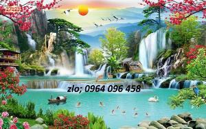 2021-09-27 06:47:32  2  Tranh gạch 3d ốp tường mẫu phong cảnh thiên nhiên - 656XP 1,200,000