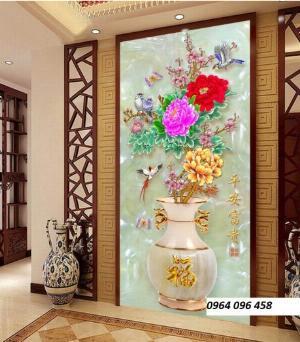 2021-09-27 06:49:49  10  Tranh gạch 3d hoa ngọc - 54SM 1,200,000