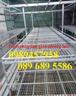 Bán Lưới thép làm giàn lan phi 3 ô 50x50, Lưới phi 4 ô 50x50, 100x100