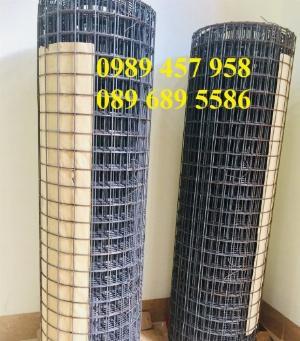 Lưới hàn mạ kẽm phi 2 ô 25x25, 50x50, Lưới đen D2, D3, D4 có sẵn