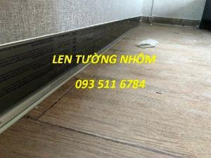 Len tường nhôm - Len tường nhựa PVC - Len tường Inox màu