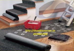 Thảm bảo vệ sàn thi công