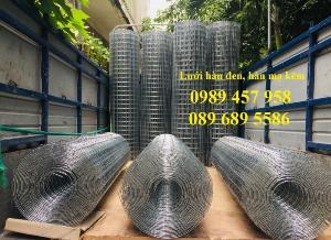 Lưới thép đen D3 ô 50x50, 100x100, Lưới mạ kẽm hàng rào D4 200x200