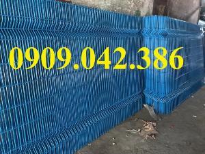 Hàng rào lưới thép sơn tĩnh điện, lắp đặt hàng rào lưới thép sơn tĩnh điện,