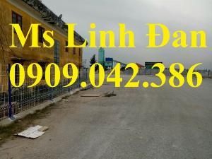 Lưới Thép Hàng Rào Gập Đầu D4 A50X100, Hàng Mạ Kẽm Sơn Tĩnh Điện