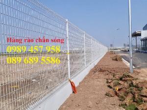 Hàng rào chấn sóng, Hàng rào gập tam giác, Hàng rào phẳng D5 a 50x200, 50x150