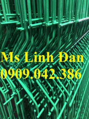Lưới thép hàng rào mạ kẽm sơn tĩnh điện, hàng rào lưới thép chấn sóng sơn tĩnh điện