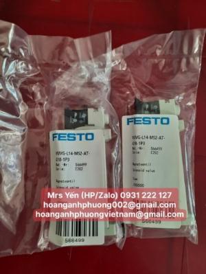 VUVG-L14-M52-AT-G18-1P3 | FESTO | Van điện từ 14 mm | Hoàng Anh Phương