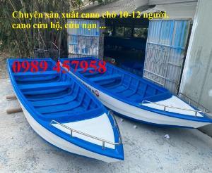 Thuyền composite chở 4-6 người, thuyền chở khách 10-20 người