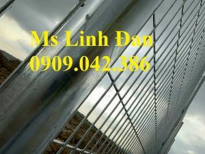 Lưới thép hàng rào mạ kẽm d5 a50x150, hàng rào lưới thép mạ kẽm,