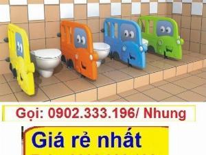 Vách ngăn toilet, bán vách ngăn toa let mầm non