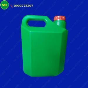 Can đựng nước rửa chén Ngọc Minh, can nhựa 2 lít đựng hóa chất.