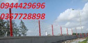 Hàng Rào Lưới Thép Mạ Kẽm Sơn Tĩnh Điên phi 5