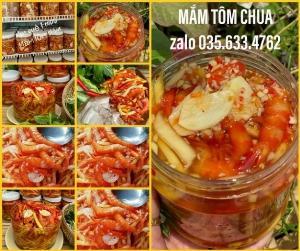 Mắm tôm chua hủ 950 gram