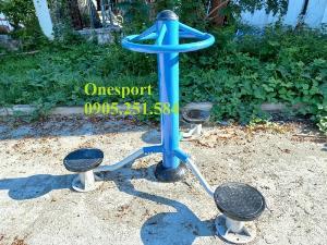 Thiết bị tập xoay eo 3 hướng ngoài trời Onesport
