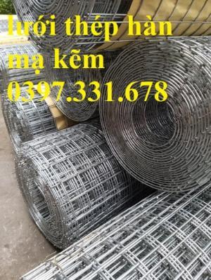 Lưới thép hàn mạ kẽm 3ly ô 50x50 giá sỉ tại Nghệ An