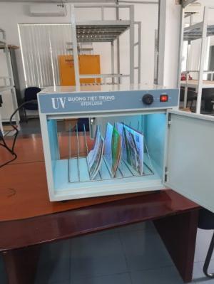 Buồng tiệt trùng UV 2 cửa đối diện
