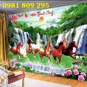 Tranh Ngựa phi trên nước , PHONG THỦY - TIỀN TÀI - SỰ NGHIỆP