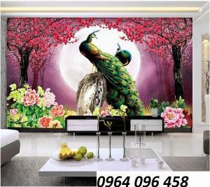Tranh gạch 3d phòng khách - phòng ngủ - GBG4