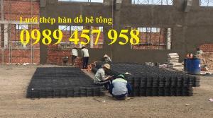 Lưới thép hàn gân phi 8 a 200x200, Lưới hàn chập D10 200x200, A10 200x200