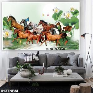 Tranh gạch ngựa ốp tường