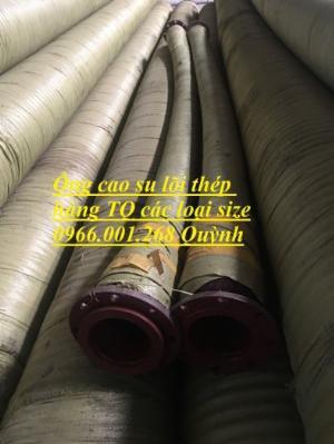 Ống rồng, ống cao su lõi thép phi 200,phi 220,phi 250,phi 300 , ống hút cát chất lượng cao