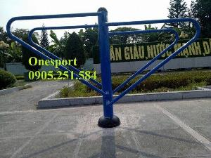Xà kép 2 tầng ngoài trời - Dụng cụ tập công viên Onesport
