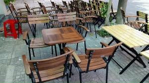 Bộ bàn ghế cafe ngoài trời giá xưởng