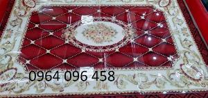 Gạch tranh thảm lát nền phòng khách - VCX4