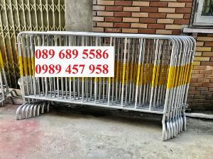 Hàng rào di động có bánh xe, hàng rào di động inox304, Hàng rào phản quang