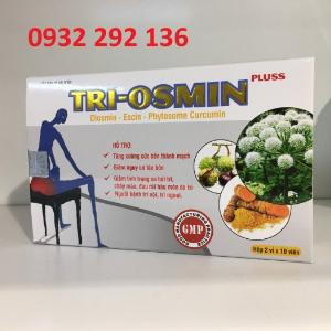 Tri Osmin hỗ trợ cho người bị tr ĩ nội, tr ĩ ngoại