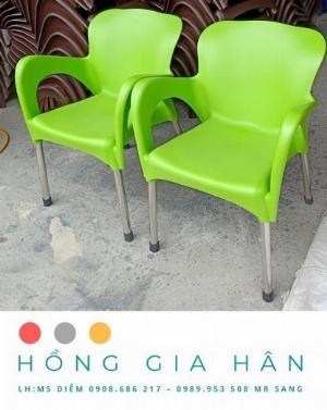 Bàn ghế cafe Hồng Gia Hân_Ghế nữ hoàng