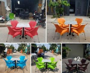 Bàn ghế cafe Hồng Gia Hân_Bàn ghế nữ hoàng