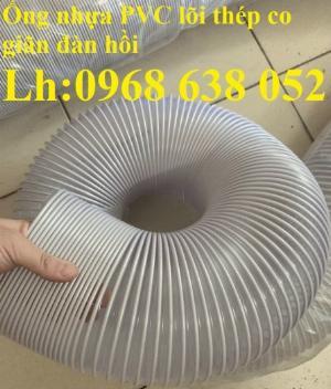 Kho ống hút bụi nhựa PVC lõi thép phi50, phi60 nhập khẩu chính