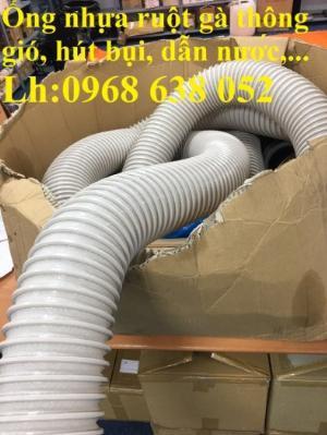 Mua ống nhựa ruột gà hút bụi phi90, phi100, phi114, phi120 chất lượng số 1 tại việt nam