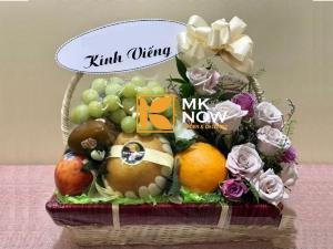Giỏ trái cây đám hiếu - FSNK270