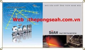 Giá mới ống thép SEAH cập nhật
