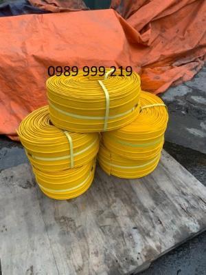 Cuộn nhựa vàng pvc V250-20m chắn mạch ngừng xây dựng