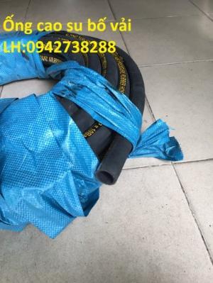 Ống cao su bố vải phi 60 hàng có sẵn