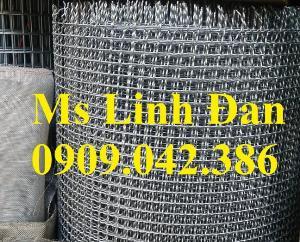 Lưới thép đan mạ kẽm d1, d2, d3, d4,