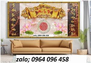 Tranh bàn thờ - tranh gạch 3d bàn thờ - GDS2
