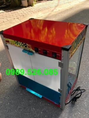 Máy làm bắp rang bơ điện máy nổ bỏng ngô dùng điện 220v