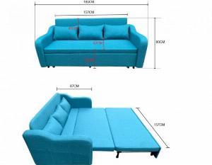 Ghế giường sofa 2 trong 1 thú vị, thi mua SOFA GIƯỜNG NHIỀU HƠN thay vì mua giường nằm thông thường? Tại sao?