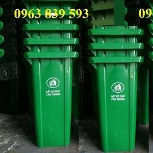 Thùng rác nhựa, thùng rác 120L, thùng rác 240L./ 0963.839.593 Ms.Loan