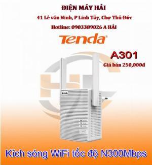 2021-10-22 14:20:41  3  Thiết bị Kích sóng WiFi Tenda A301 hàng chính hãng, giá rẻ, 250,000