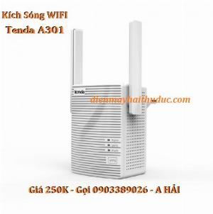 2021-10-22 14:20:41  1  Thiết bị Kích sóng WiFi Tenda A301 hàng chính hãng, giá rẻ, 250,000