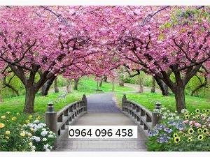 2021-10-23 09:51:56  7  Tranh hoa đào - gạch tranh 3d hoa đào - HDS2 1,200,000