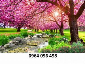 2021-10-23 09:51:56  5  Tranh hoa đào - gạch tranh 3d hoa đào - HDS2 1,200,000